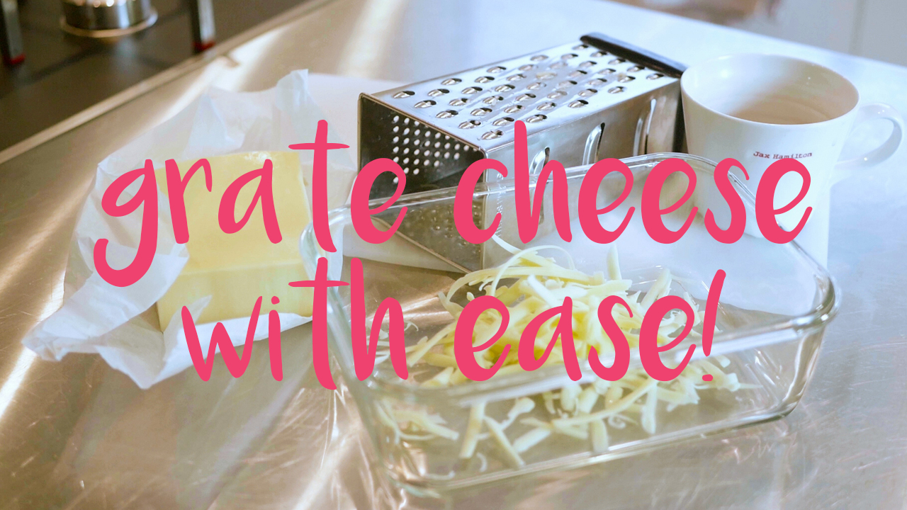 Grate Cheese with Ease - JAX FOOD HAX