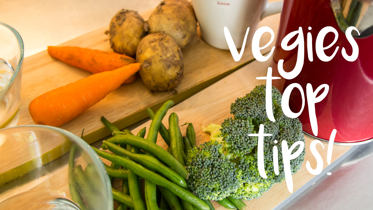 Vegies Top Tips! : Jax Food Hax