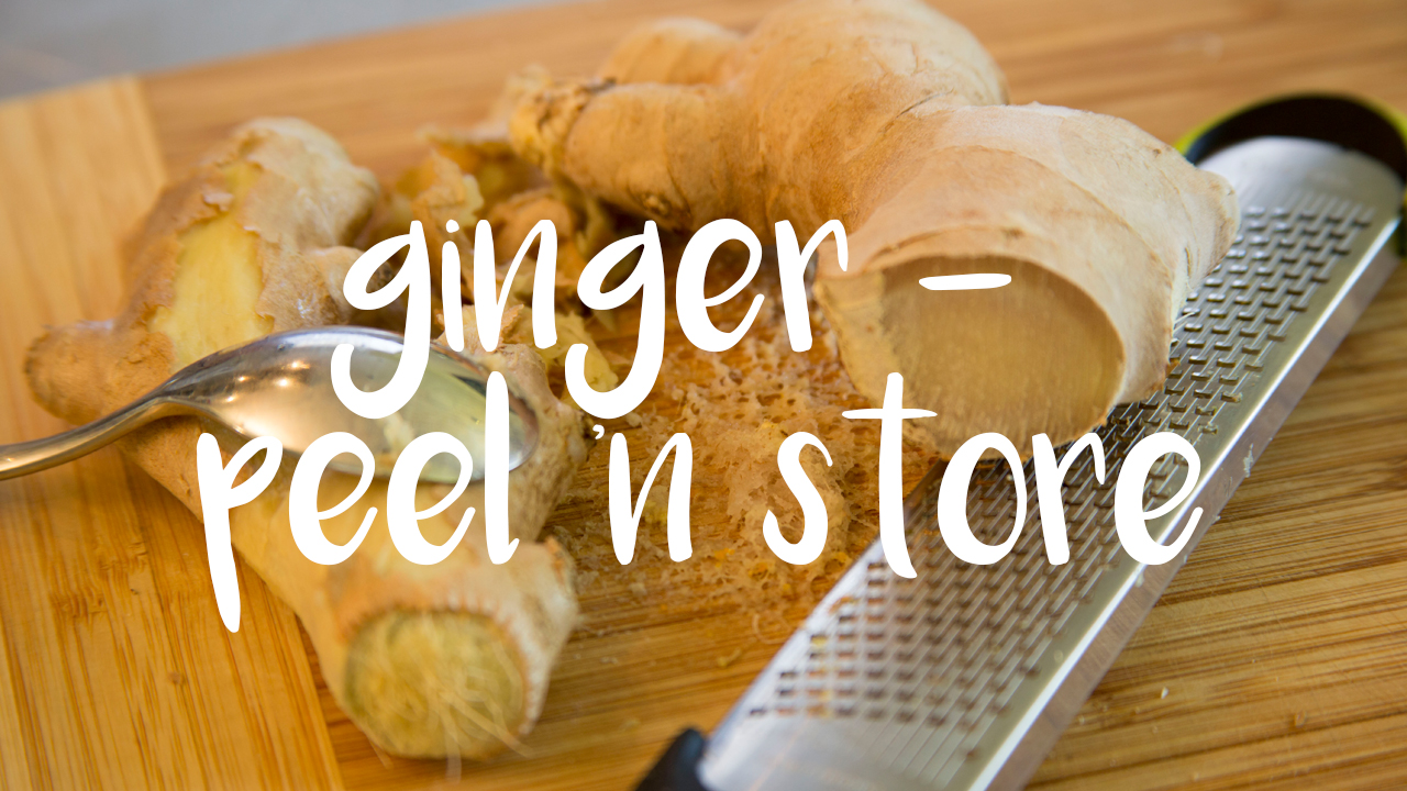 Ginger Peel N Store - Jax Food Hax